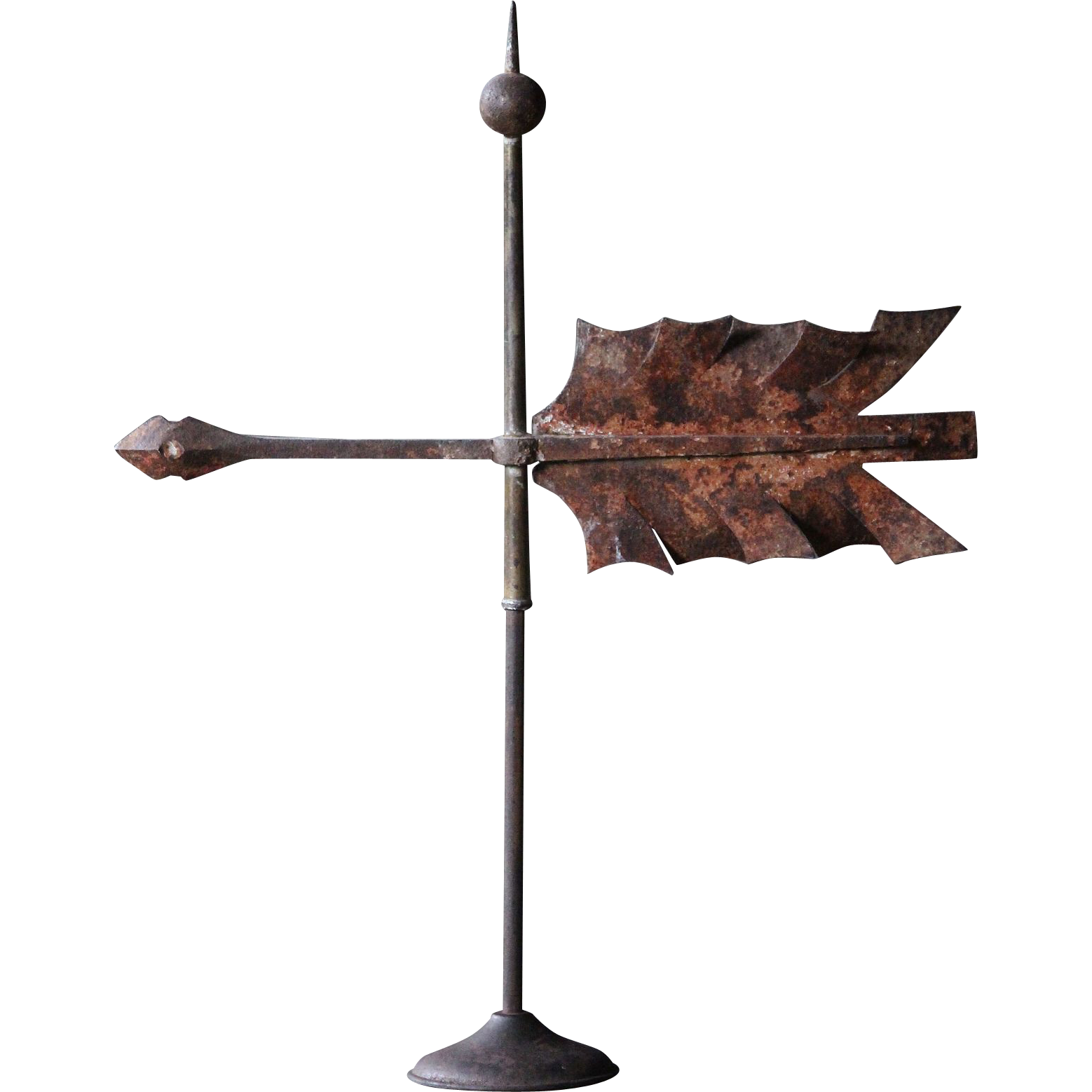 Vintage Weather Vane: 19th Century English Arrow Weathervane