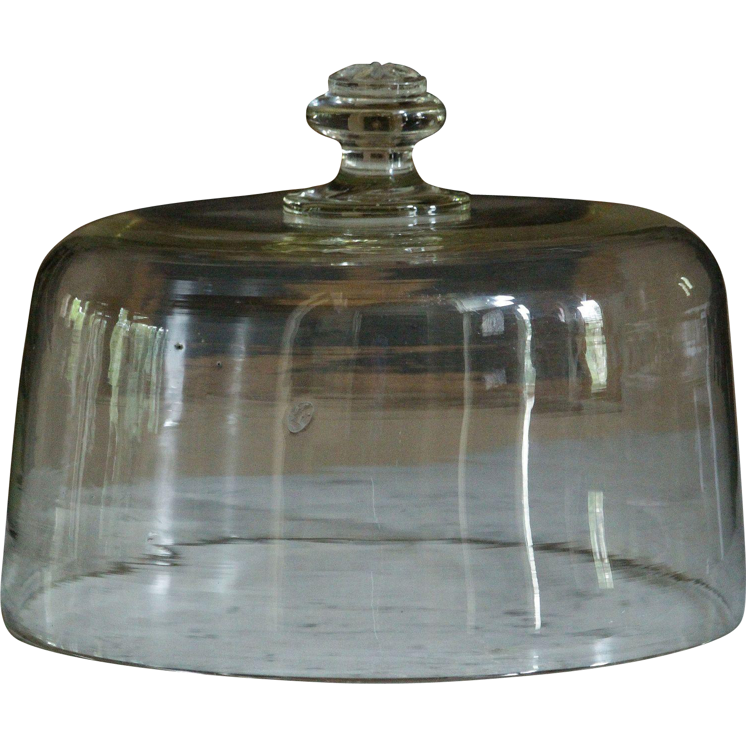 19th century french glass cake dome antique food cloche for 19th century french cuisine