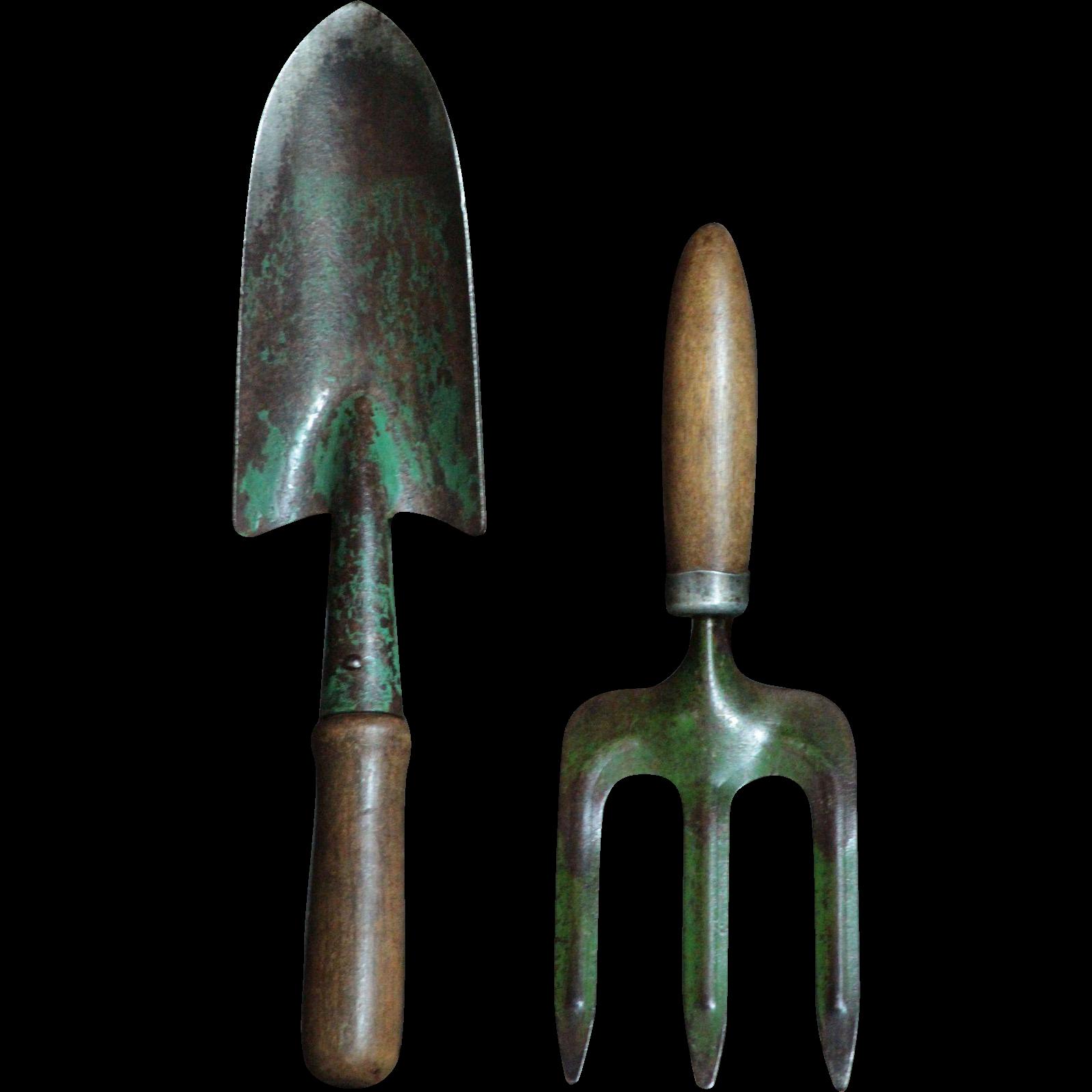 Vintage Tool Green Paint