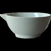 Antique English Dairy Cream Bowl