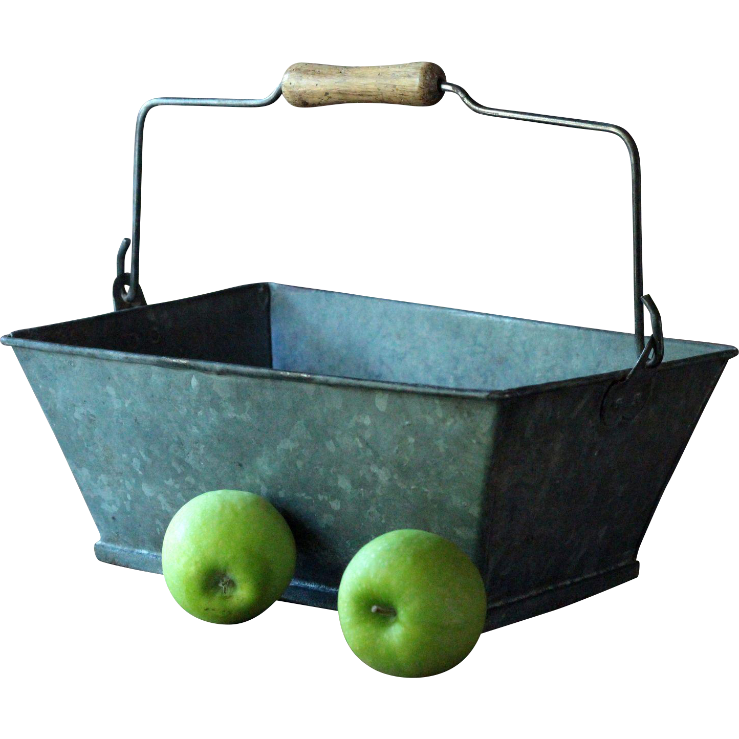 antique french workman 39 s tool tote caddy galvanized