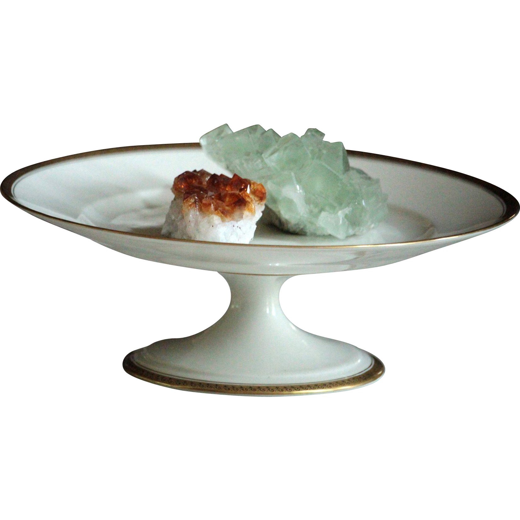 French Limoges Betoule Legrand Porcelain Tazza