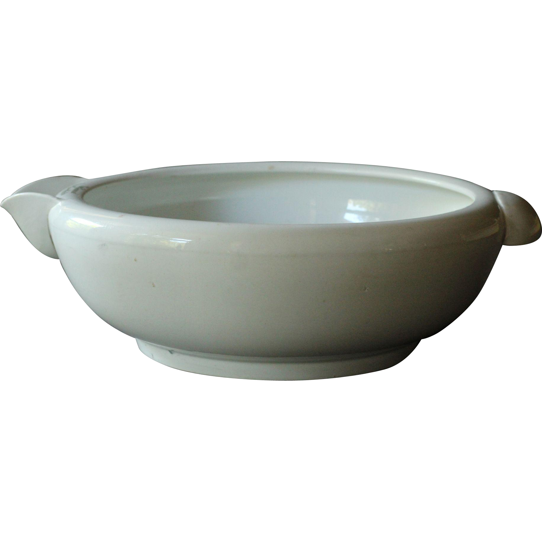 Antique English Grimwade Patent Safety Milk Bowl