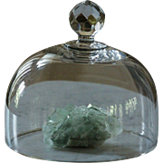 Antique 19th Century French Glass Cloche - Food / Cheese Dome Cover #1