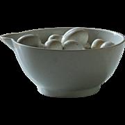 Antique English Ironstone Dairy Cream Bowl