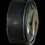 Antique English LARGE Magnifying Glass Lens - Magic Lantern
