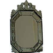 Vintage Venetian Table / Wall Mirror