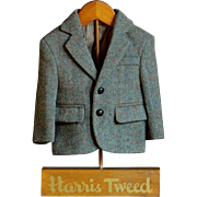Vintage Harris Tweed Jacket Shop Advertising Store Display