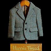 Vintage Harris Tweed Jacket Shop Advertising Store Display