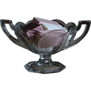 Vintage English Glass Fruit Bowl - Chippenale Krys-Tol Pressed Glass Tableware