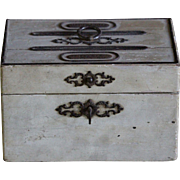 Antique French Correspondence Letter Writing Box