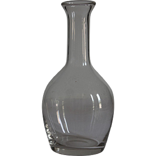 19th Century Normandy Glass Cider Carafe - French Bistro Decanter #3