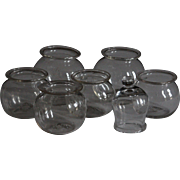 Antique English Glass Cupping Jars