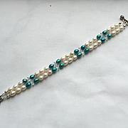 Beautiful Freshwater Pearl 2-Strand Bracelet
