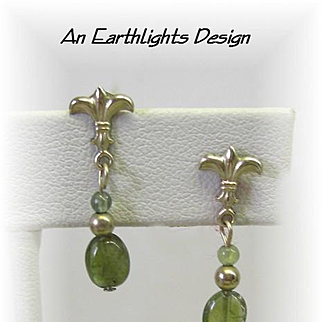 Petite & Elegant Tourmaline Earrings