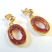 Sparkling Swarovski Crystal Earrings!
