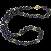 Beautiful Dark Amethyst Necklace