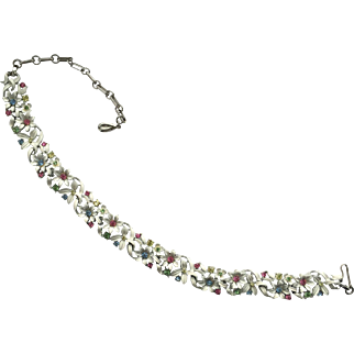 Beautiful Vintage LISNER Signed RS Necklace