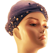 "Elegant Glam ""Original Mr. Stanley New York"" Netted Turban"