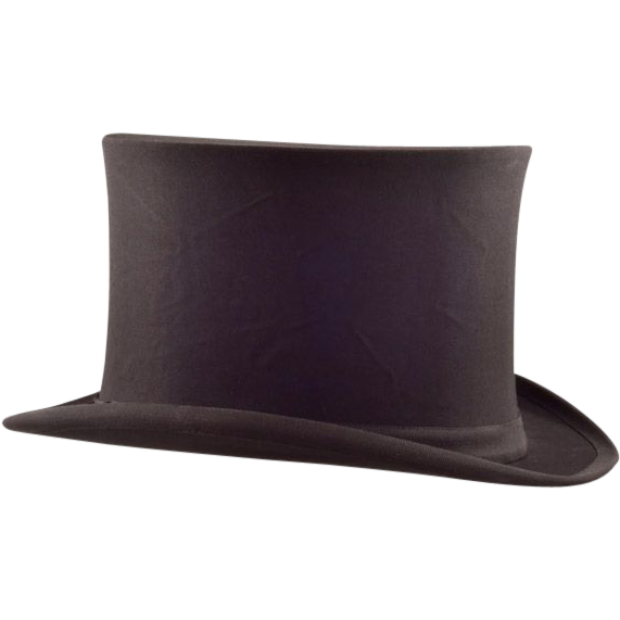 Dashing Dunlap & Co. Vintage Collapsible Opera / Top Hat