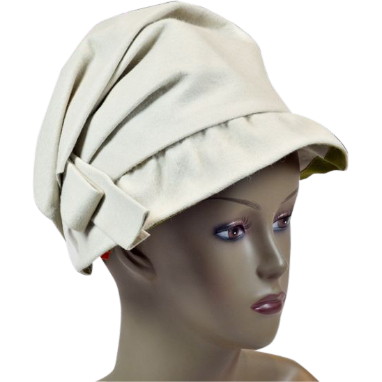 Glorious 1950's Creamy Wool Hat