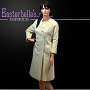 Stylish I. Magnin Matching Classic Coat and Dress Set