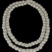 Classic Vintage Chanel Faux Pearl Sautoir Necklace ca. 1970s