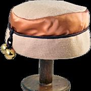 So Fun Kicky Cool Stylish Junior B  Brown Hat Darling!