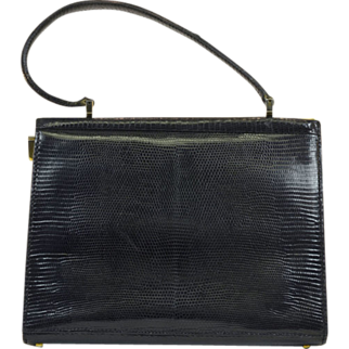 Stylish Vintage Lizard Skin Purse