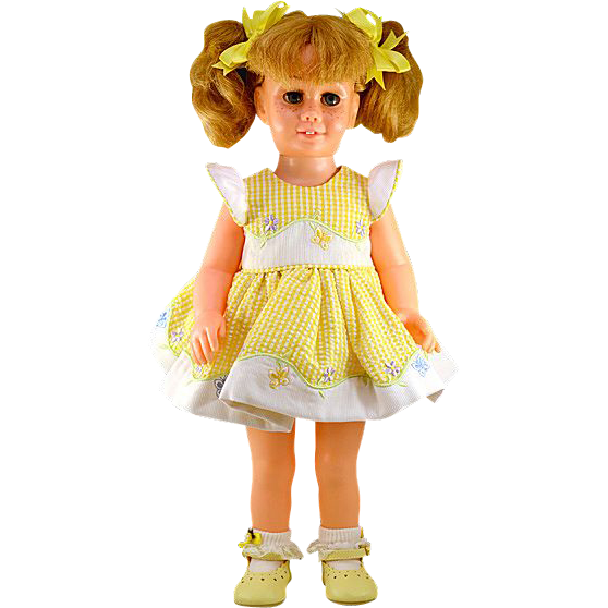 1961 Original American Blonde Talking Chatty Cathy Doll
