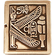Gorgeous Sterling .925 Egyptian Men's Money Clip