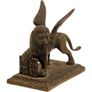 St. Mark The Evangelist Bronze Figure of Winged Lion