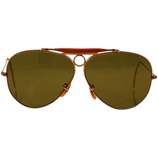Ray Ban Gold And Brown