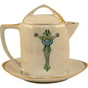 Rosenthal Selb Barvaria Donatello Deco Period Teapot Set Artist Signed