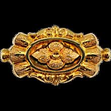Beautiful Vintage 14K Gold-Filled Brooch / Watch Pendant