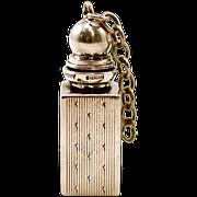 Antique Tiffany & Co. Sterling Silver Vinaigrette Bottle
