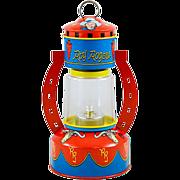 Nostalgic Roy Rogers Battery-Powered Tin Lithograph Lantern in Original Box