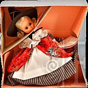 """Vintage Madame Alexander Storyland Series """"Mother Goose"""" 8"""" Doll"""