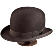 Dapper High-Quality Dobbs Fifth Avenue Vintage Bowler