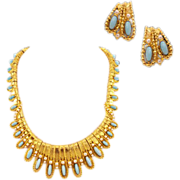 Breathtaking Boucher Demi-Parure with Earrings and Necklace