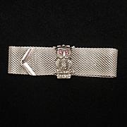 Mesh Owl Bracelet Vintage Sarah Coventry