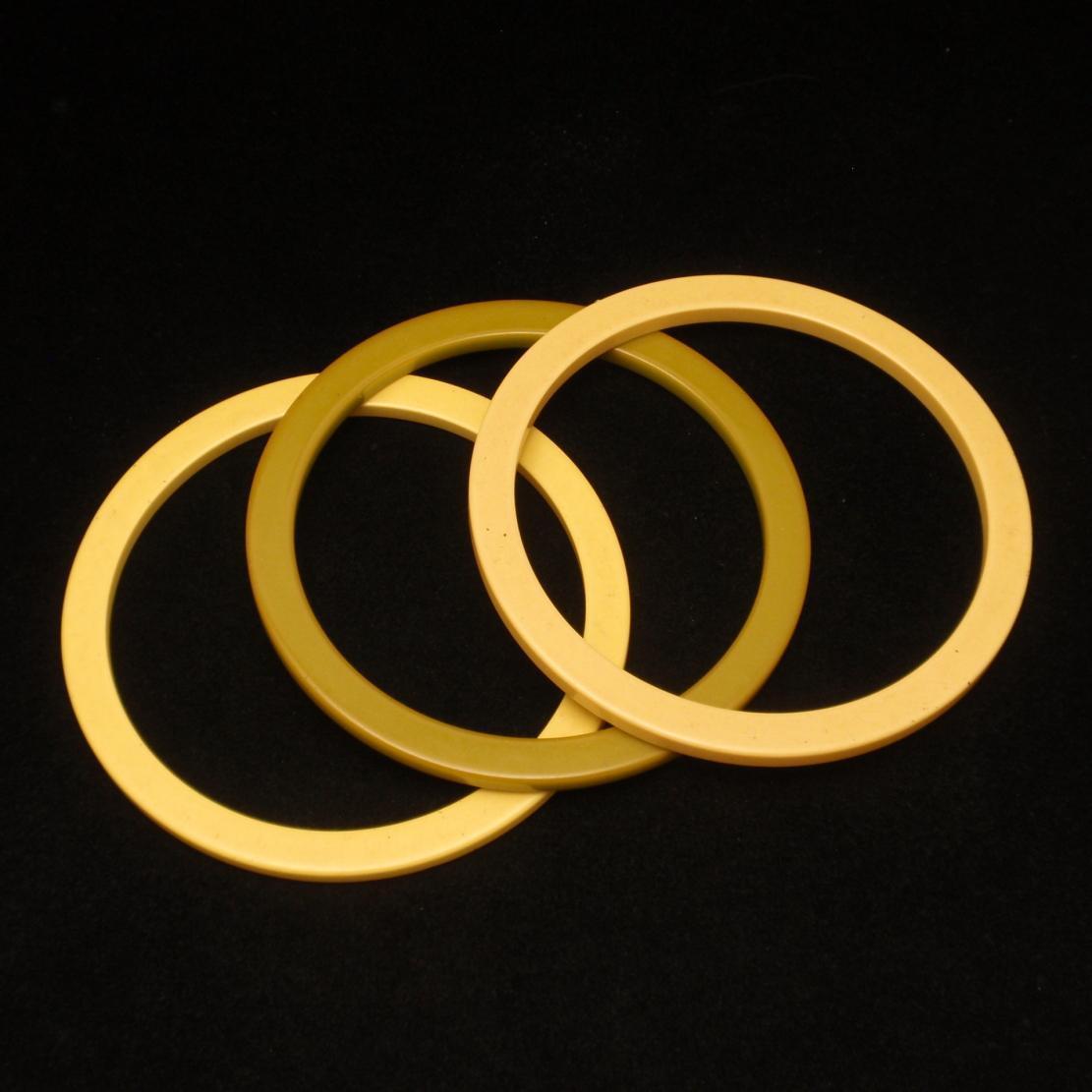 Lot of 3 Spacers or Bangle Bracelets