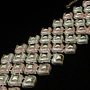 "Coro Pastel Bracelet Vintage 1 1/2"" Wide"
