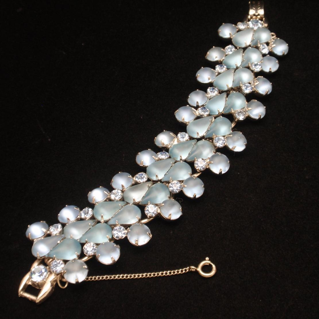Blue Juliana D&E Vintage Bracelet