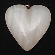Agate Heart Pendant