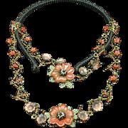 Tribal Ethnic Hair Ornament Headdress Necklace