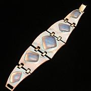 Kay Denning Enamel Bracelet Vintage