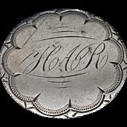 Love Token Charm 1876 Seated Liberty Quarter Engraved HAR