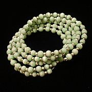 Green Moonglow Wrap Bracelet