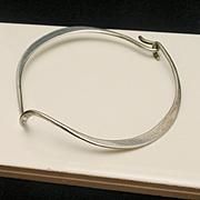 Sterling Silver Free Form Bracelet